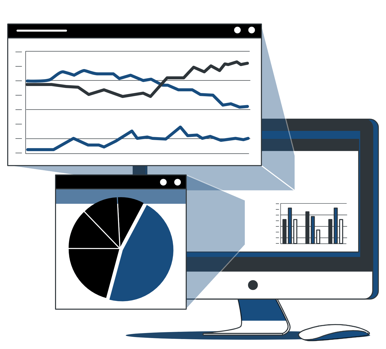 Your computer showing you all the business intelligence you need to succeed