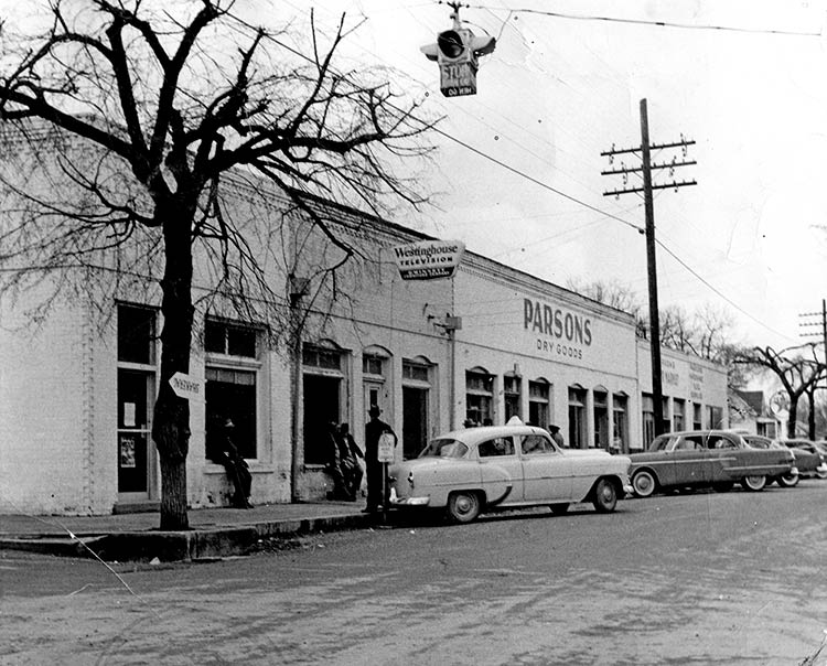 Parsons in the 1950's