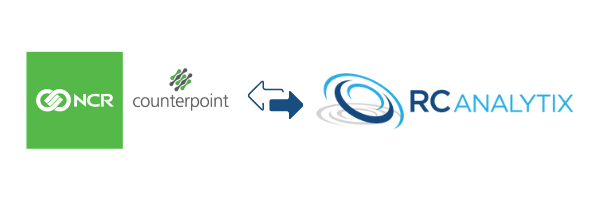 NCR CounterPoint integrates seamlessly with RC Analytix